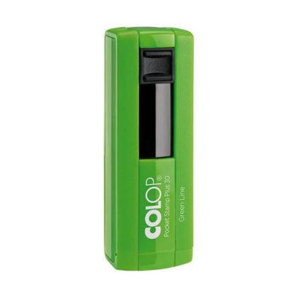 Pocket Stamp 30 Green Line