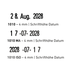 trodat classic 1010 datum iso ma