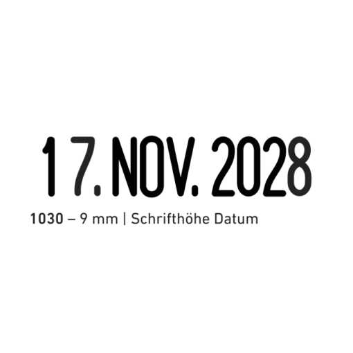 trodat classic 1030 datum