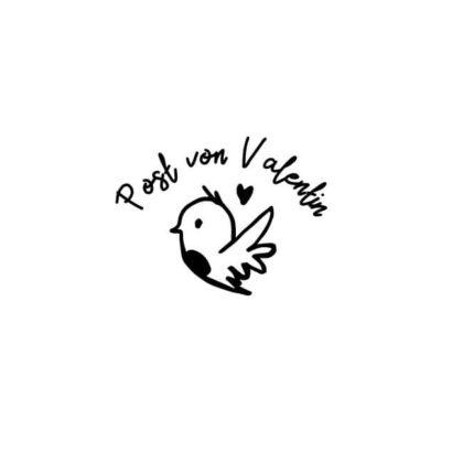 Post von Valentin per Liebes-Vogel