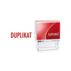 Colop Printer Line 20 Lagertextstempel DUPLIKAT
