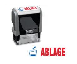 Trodat Office Printy 4912 Lagertextstempel ABLAGE