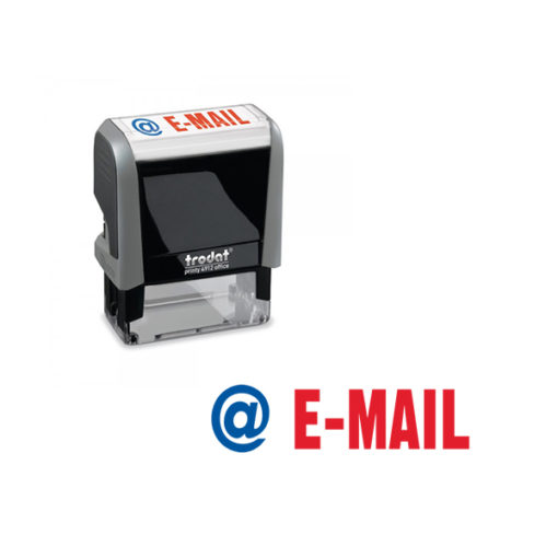 Trodat Office Printy 4912 Lagertextstempel E-Mail