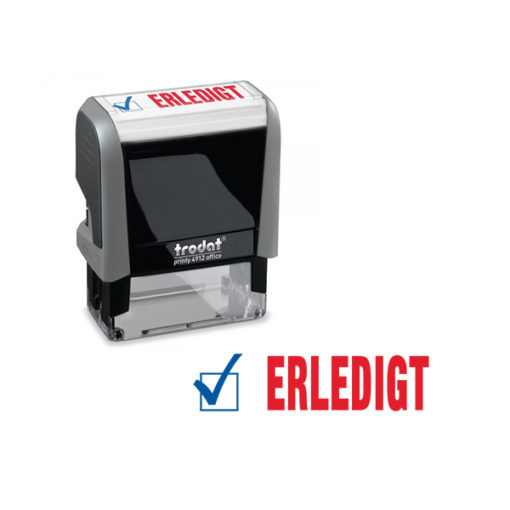 Trodat Office Printy 4912 Lagertextstempel ERLEDIGT