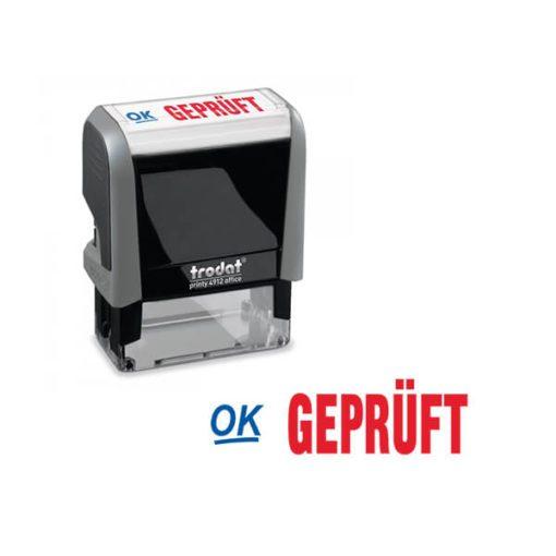 Trodat Office Printy 4912 Lagertextstempel GEPRÜFT