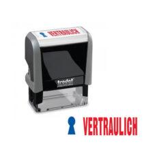 Trodat Office Printy 4912 Lagertextstempel VERTRAULICH