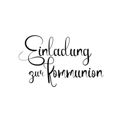 motivstempel kommunion einladung zur kommunion
