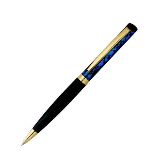 Heri Color Exclusive 6723 Kugelschreiberstempel blau marmoriert