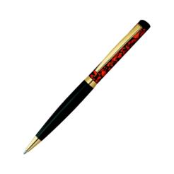 Heri Color Exclusive 6724 Kugelschreiberstempel orange marmoriert