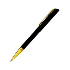 Heri Diagonal 3020 Kugelschreiberstempel schwarz gold