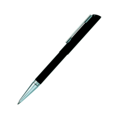 Heri Diagonal 3021 Kugelschreiberstempel schwarz silber
