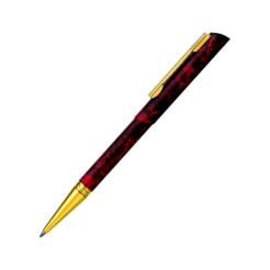 Heri Diagonal 3089 Kugelschreiberstempel marmoriert Design rot