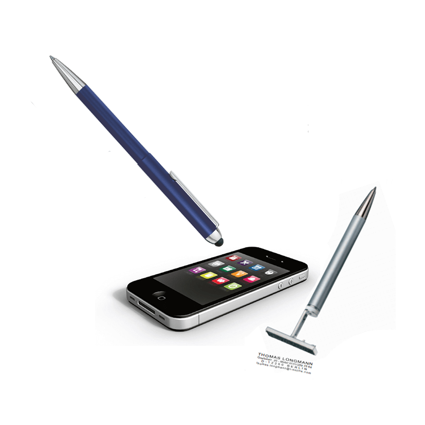 Heri 3303 Stamp And Touch Pen 3 In 1 Blau