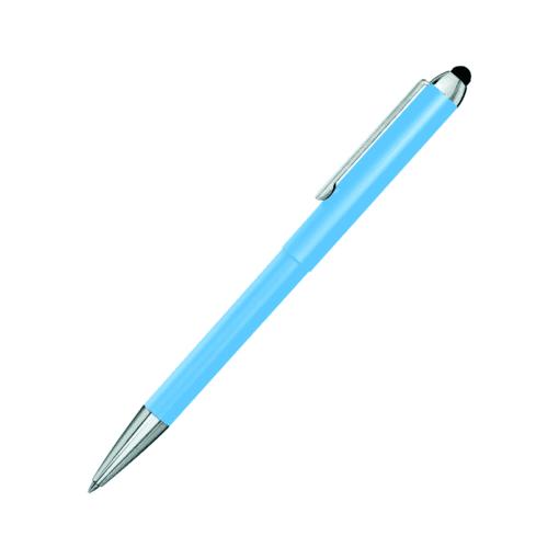 Heri Stamp und Touch Pen 3313 Kugelschreiberstempel hellblau