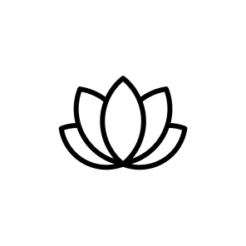 mini motivstempel lotusblume
