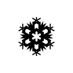 mini motivstempel schneeflocke 13