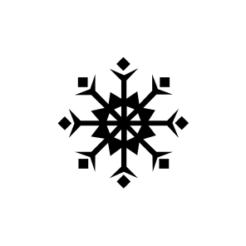 mini motivstempel schneeflocke 18