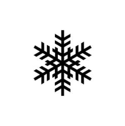 Mini Schneeflocken