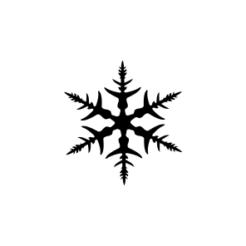 mini motivstempel schneeflocke 3
