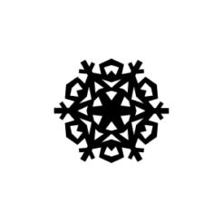 mini motivstempel schneeflocke 9