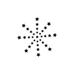 mini knaufi motivstempel stern 23