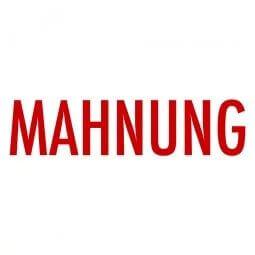 MAHNUNG