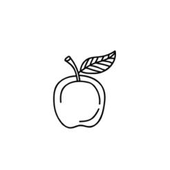 Mini Motivstempel Apfel