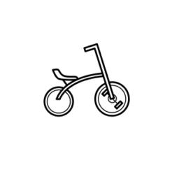 Mini Motivstempel BMX Rad