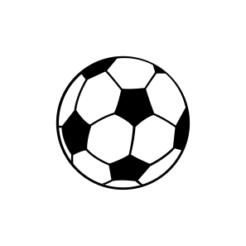 Mini Motivstempel Fussball