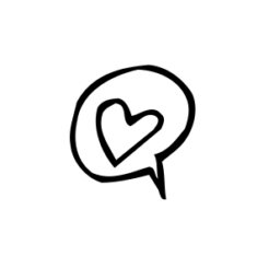 Mini Motivstempel Liebesschwur