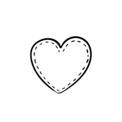 Mini Motivstempel Herzchen