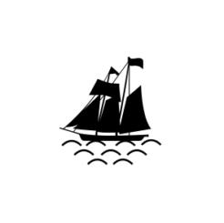 Mini Motivstempel Schiff ahoi