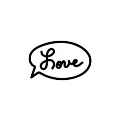 mini motivstempel hochzeit love