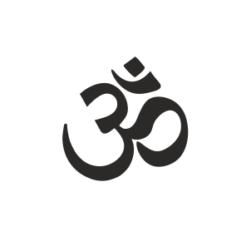 Mini Motivstempel Symbol OM