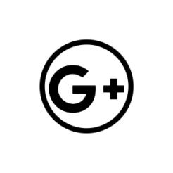 Mini Motivstempel Symbol Google Plus