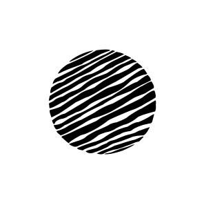 Mini Motivstempel Symbol Streifen