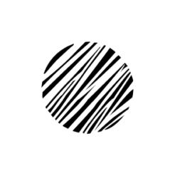 Mini Motivstempel Symbol Streifen fein