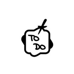 Mini Motivstempel Symbol To Do