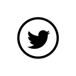 Mini Motivstempel Symbol Twitter