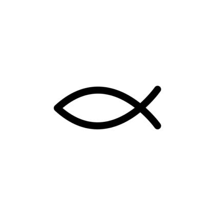 motivstempel kommunion fisch symbol christen