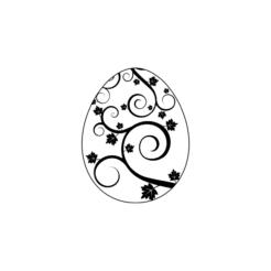 Motivstempel Ostern Osterei 2
