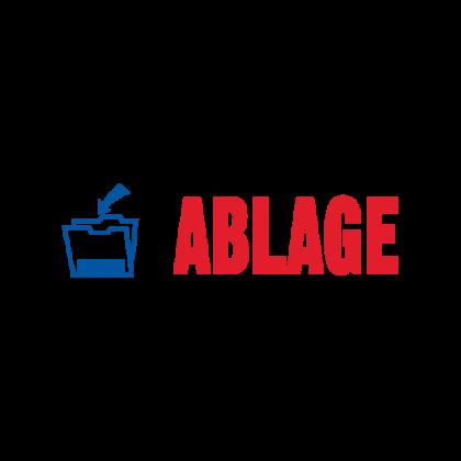 Stempel Lagertext ABLAGE