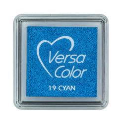 Stempelkissen VersaColor klein Cyan