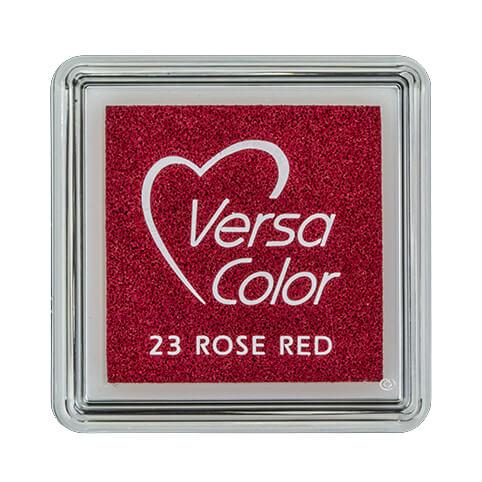 Stempelkissen VersaColor klein Rose Red