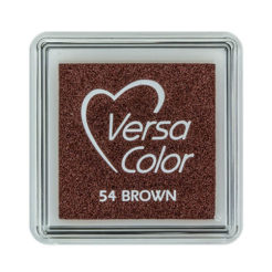 Stempelkissen VersaColor klein Brown