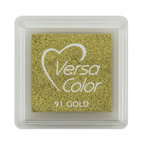 Stempelkissen VersaColor klein Gold