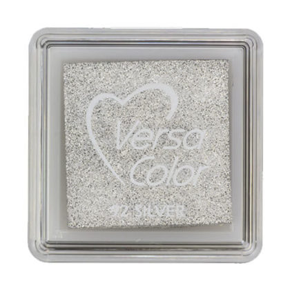 Stempelkissen VersaColor klein Silver
