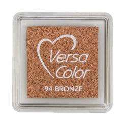 Stempelkissen VersaColor klein Bronze