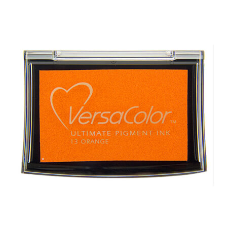 Stempelkissen VersaColor groß Orange
