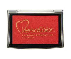 Stempelkissen VersaColor groß Scarlet